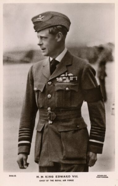 King Edward VIII - Chief of the Royal Air Force