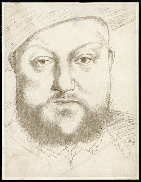 KING HENRY VIII King of England 1509 - 1547