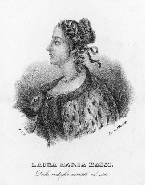 LAURA MARIA BASSI - Italian scholar and philosopher