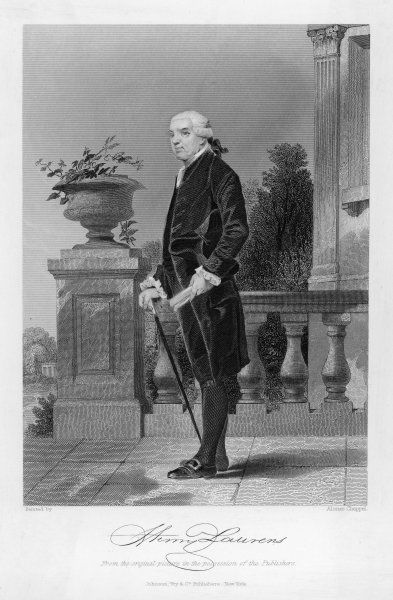 LAURENS (1724-1792). HENRY LAURENS American Revolutionary statesman, Virginia planter