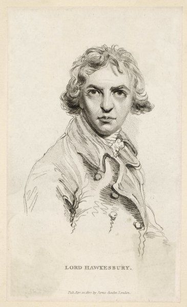 ROBERT BANKS JENKINSON - 2nd Earl of LIVERPOOL (also known as LORD HAWKESBURY) - British statesman