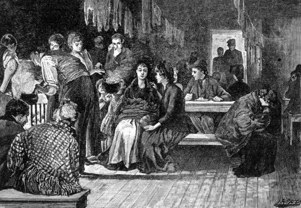 London : a common lodging house - the kitchen Date: 1892