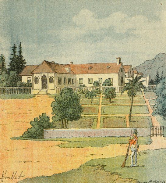 LONGWOOD, Napoleon's residence during his exile on the island of Saint Helena