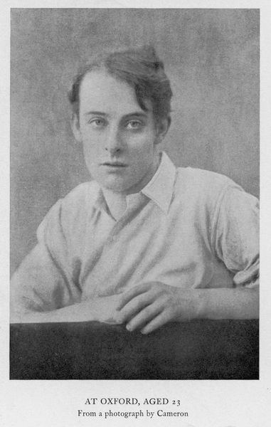 Lord ALFRED BRUCE DOUGLAS writer, friend of Oscar Wilde (in 1929)
