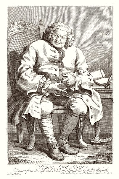 LORD LOVAT/HOGARTH. SIMON FRASER, LORD LOVAT Beheaded in 1747