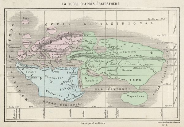 The world as known to Eratosthenes