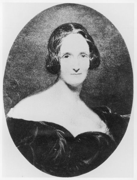 MARY SHELLEY. MARY WOLLSTONECRAFT SHELLEY Writer; wife of Percy Bysshe Shelley