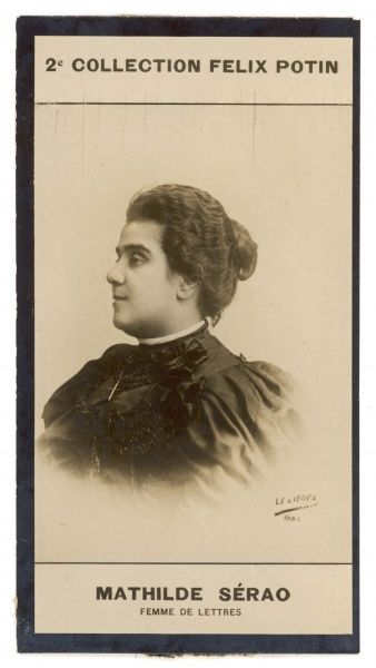 Matilda (or Matilde) Serao (1856-1927), Greek-born Italian journalist and novelist, founder and editor of Il Giorno