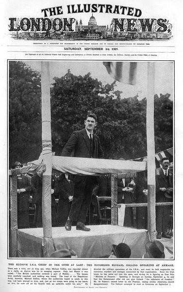 Michael Collins at Armagh, 1921