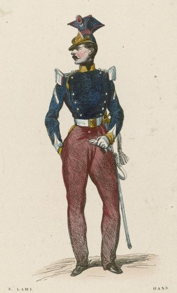French Quartermaster-Sergeant of the Lancers