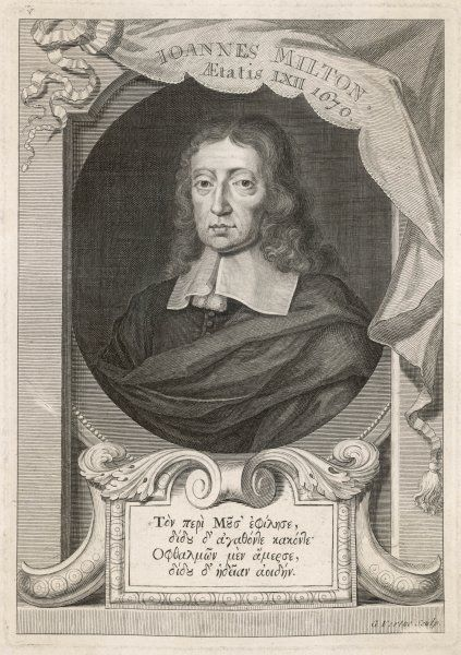 MILTON [VERTUE]. JOHN MILTON English writer