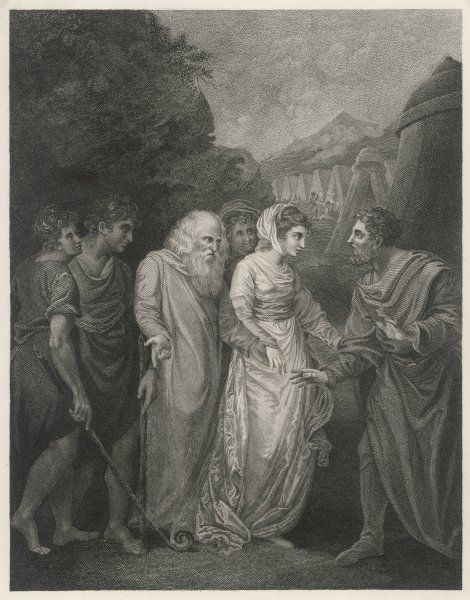 MOSES WIFE AND SONS. Moses meets with his wife and sons