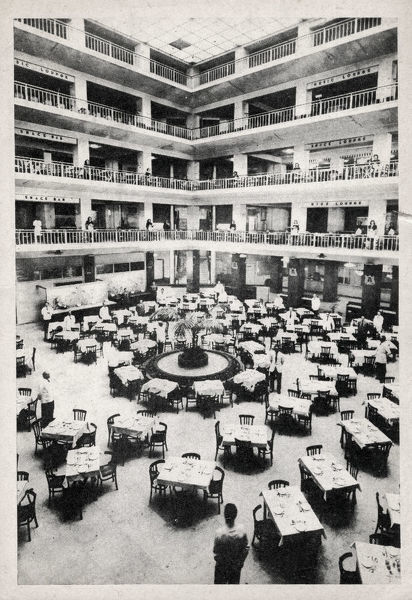 Alexander Club in Rome - The NAAFI (Navy, Army and Air Force Institute) had commandeered a department store about the size of London's Selfridges. It was called the Alexander Club after the Allied commander Harold Alexander, 1st Earl Alexander of Tunis
