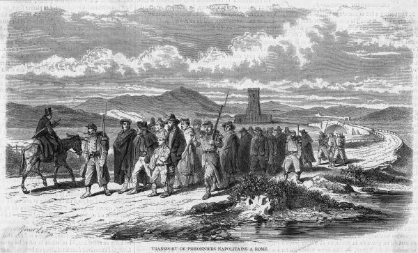 Naples Prisoners. Neapolitan prisoners after the collapse of the kingdom