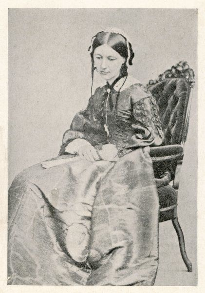 FLORENCE NIGHTINGALE nurse, hospital reformer, philanthropist : after her return from the Crimea