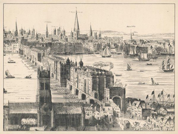 (OLD) LONDON BRIDGE 1616