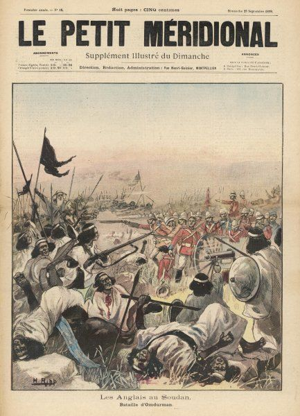 OMDURMAN. BATTLE OF OMDURMAN : the fight for the Khalifa's standard