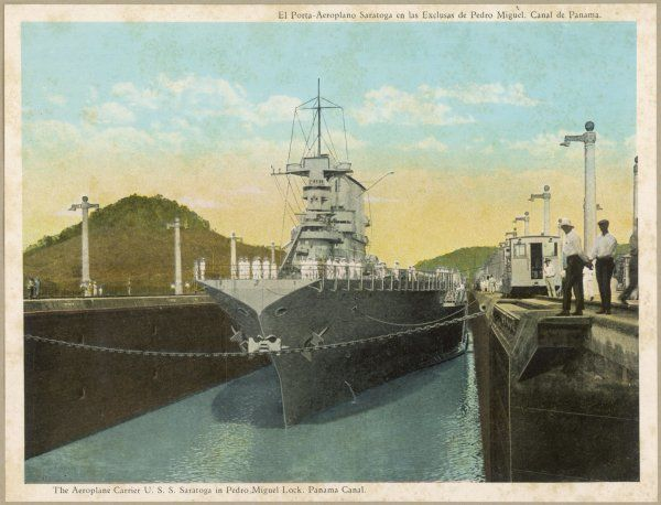 Panama Canal and Carrier