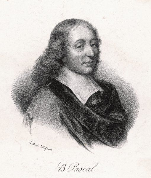 PASCAL/DELPECH. BLAISE PASCAL French philosopher