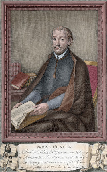 Pedro Chac??n (1526-1581). Spanish mathematician and theolog