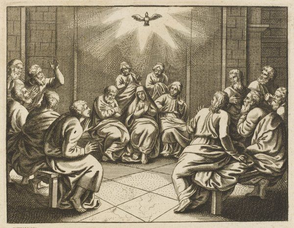Pentecost : the Dove