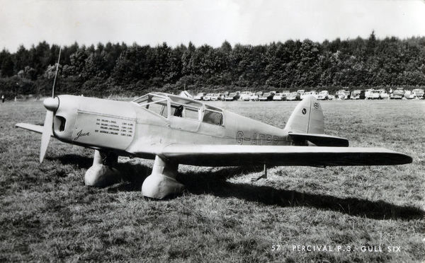 Percival P3 Gull Six, G-ADPR, Jean, used by Jean Gardner Batten, CBE, OSC ), - a New Zealand aviatrix - on two record-breaking flights in the 1930s. Date: circa 1937