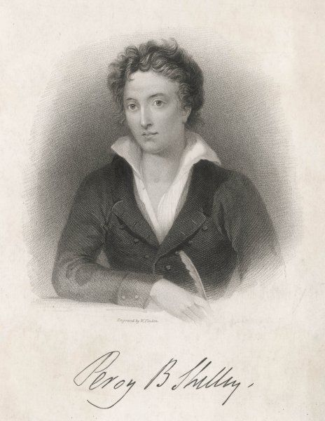 PERCY BYSSHE SHELLEY English romantic poet
