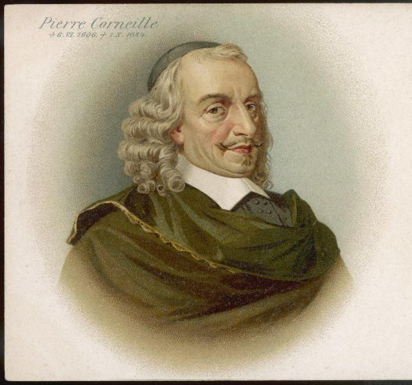 PIERRE CORNEILLE French playwright