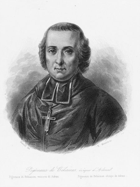 Pierre Joseph Georges Pigneau de Behaine, a French missionary to Vietnam