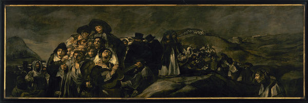 The Pilgrimage of San Isidro by Francisco de Goya