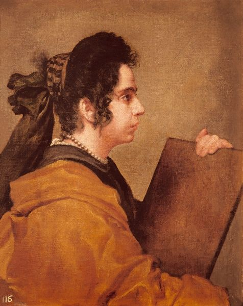 Portrait presumed to be Juana Pacheco as a Sibyl by #8262243