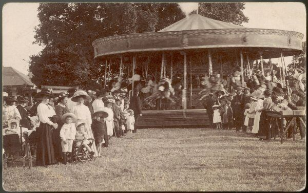 A merry-go-round at Worthing