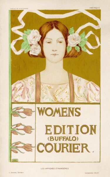 Poster for the Women's Edition of the Buffalo Courier
