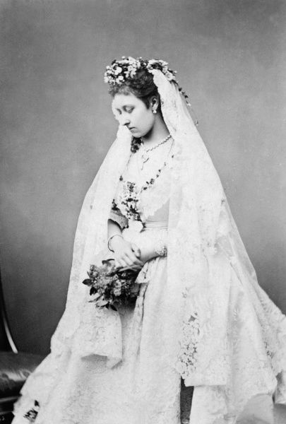 Princess Louise on her wedding day