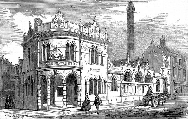 Public Baths and Washhouse, Newcastle-on-Tyne, 1859