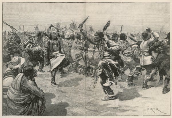 Ghost Dance of the Sioux Indians