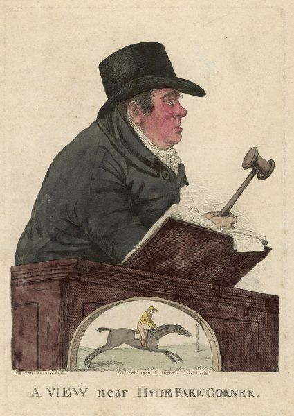 RICHARD TATTERSALL Racehorse auctioneer and founder of Tattersalls