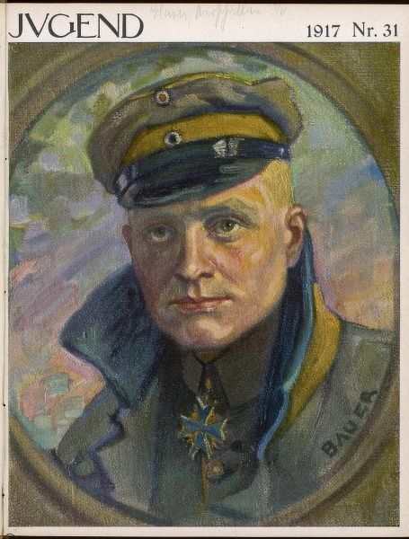 MANFRED VON RICHTHOFEN German aviator who shot down 80 enemy planes before himself being killed in action