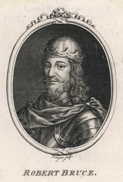 ROBERT I (THE BRUCE) King of Scotland (1306-29)