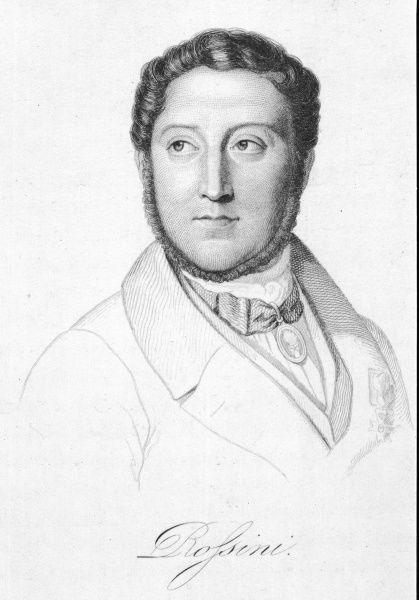 GIOACCHINO ROSSINI Italian composer