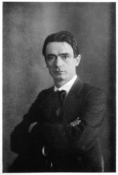 RUDOLPH STEINER Austrian philosopher, in the 1920s