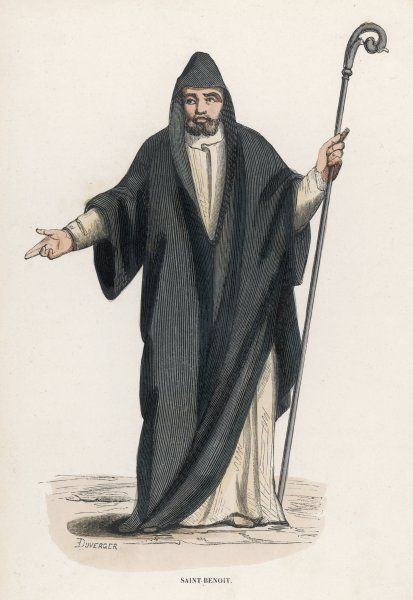 SAINT BENEDICT OF NURSIA Italian religious gained fame for sanctity as hermit near Subiaco