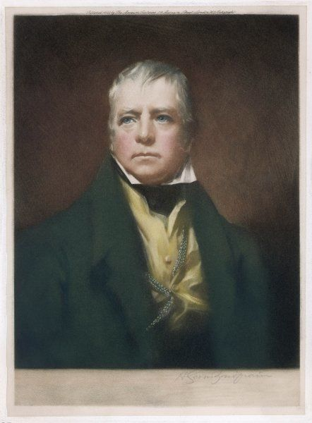SCOTT (1771 - 1832). SIR WALTER SCOTT Scottish writer