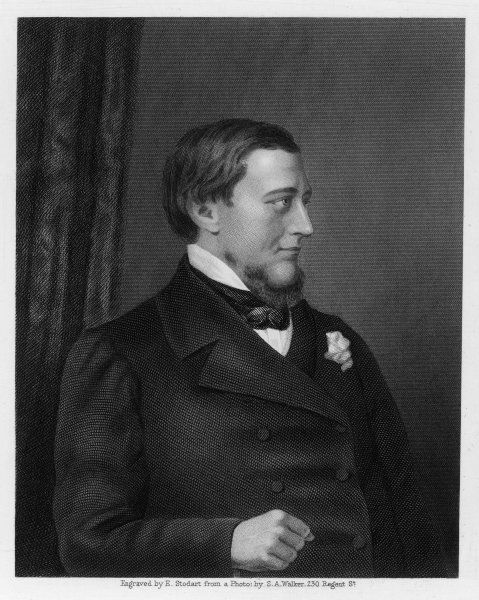 SIDNEY HERBERT 1ST BARON HERBERT OF LEA 2nd son of the 11th Earl of Pembroke British MP from 1832 - 1860