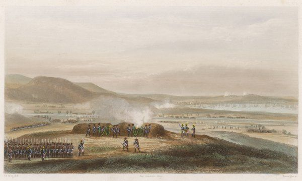 THE SIEGE OF TOULON The French besiege Toulon, held by the British : Napoleon, making his first notable appearance, is largely responsible for the success