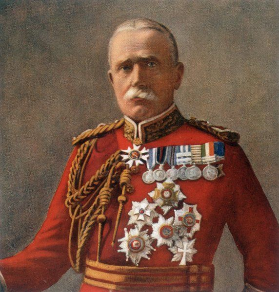 JOHN DENTON FRENCH Commander-in-Chief of the British Expeditionary Force