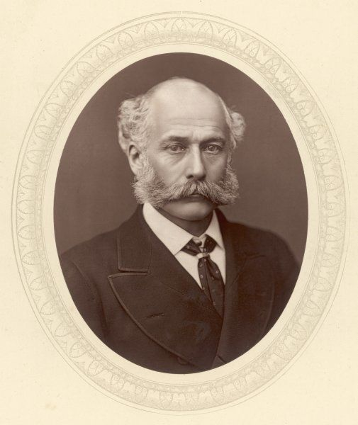 SIR WILLIAM GEORGE ARMSTRONG, Baron Armstrong Engineer, inventor and arms manufacturer