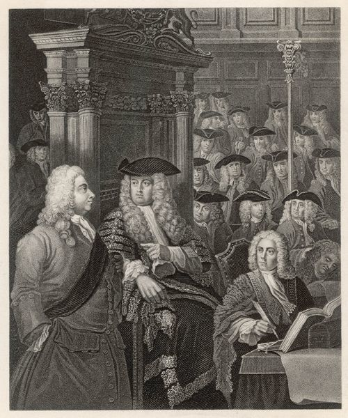 SIR ROBERT WALPOLE 1st Earl of Orford English statesman - Whig MP in the House of Commons