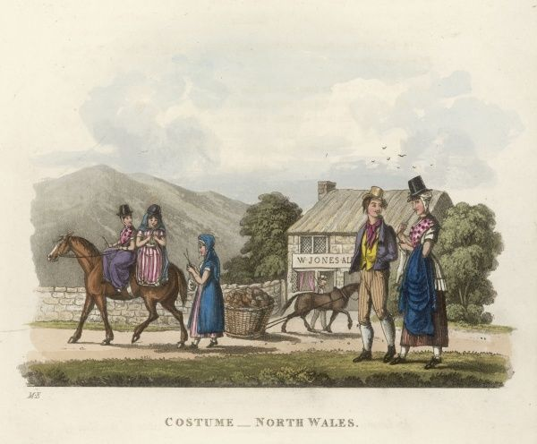 Costumes of North Wales