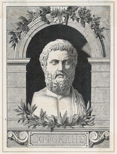 SOPHOCLES Athenian playwright